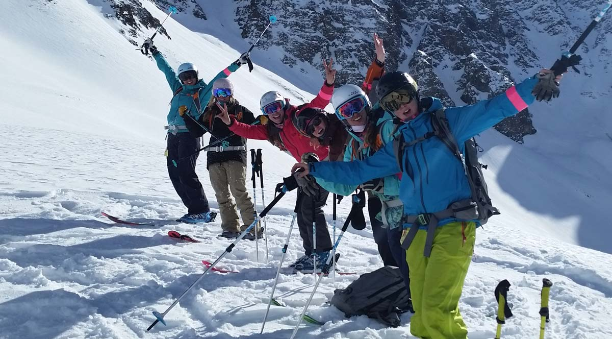 Silverton Mountain Colorado Guided Skiiing