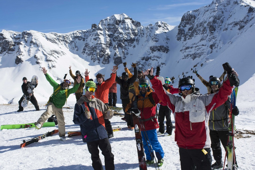 season pass, Silverton Mountain, Solid Gold Pass, happy people